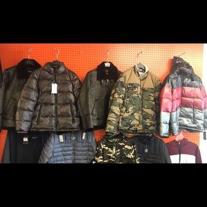New leather coats guess,and Dkny Lg and x Lrg